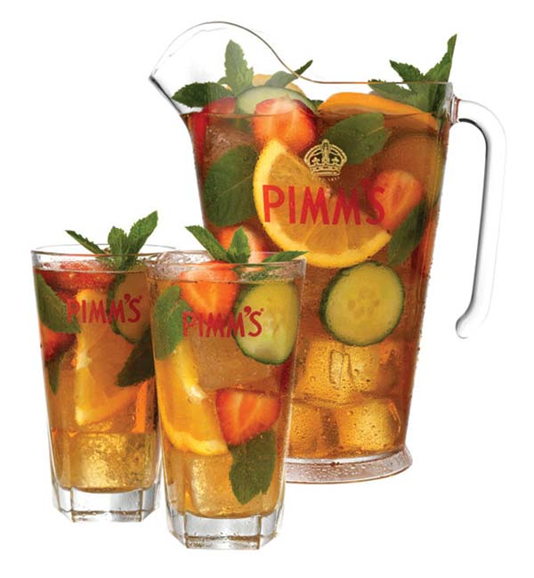Drink of the week the fussy one for What to mix with pimms