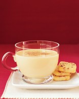 Egg Nog and cookies