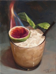 Flaming Mai Tai