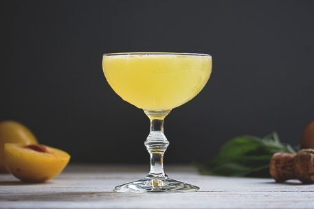 Sage and Honey Cocktail